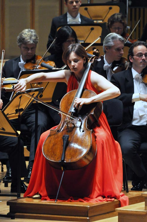 Netherlands Radio Philharmonic Orchestra under the baton of Jaap van Zweden: Photo by J. Henry Fair
